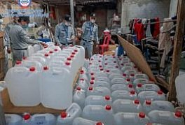CCF Directorate-General has discovered and confiscated over 96 tons of counterfeit alcohol (Methanol) on the market in a period of 7 months in 2021